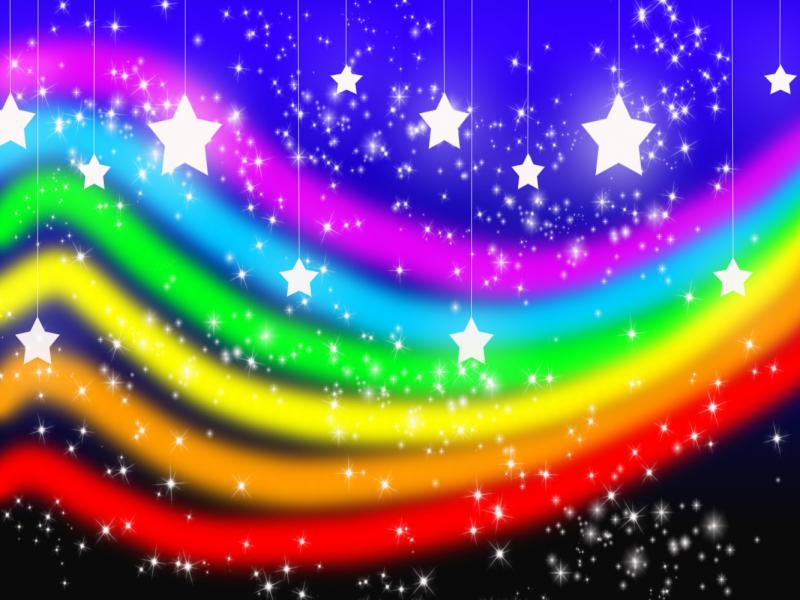 Super Rainbow Xd Photo Backgrounds