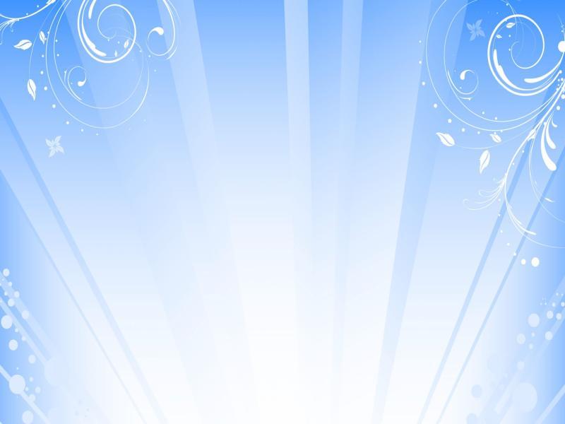 Swirl Blue Light Slides Backgrounds