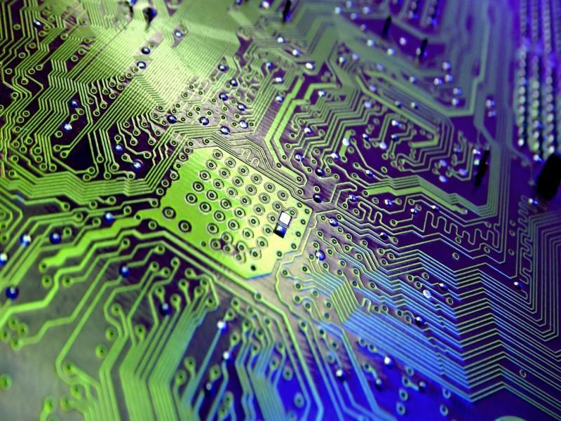 Technology Motherboards Presentation Backgrounds
