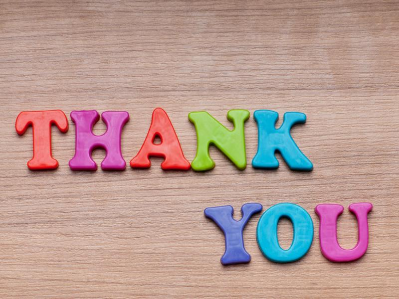 Thank You Clip Art Backgrounds For Powerpoint Templates Ppt