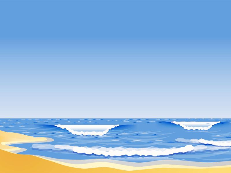 The Sandy Beach Blue Nature Backgrounds