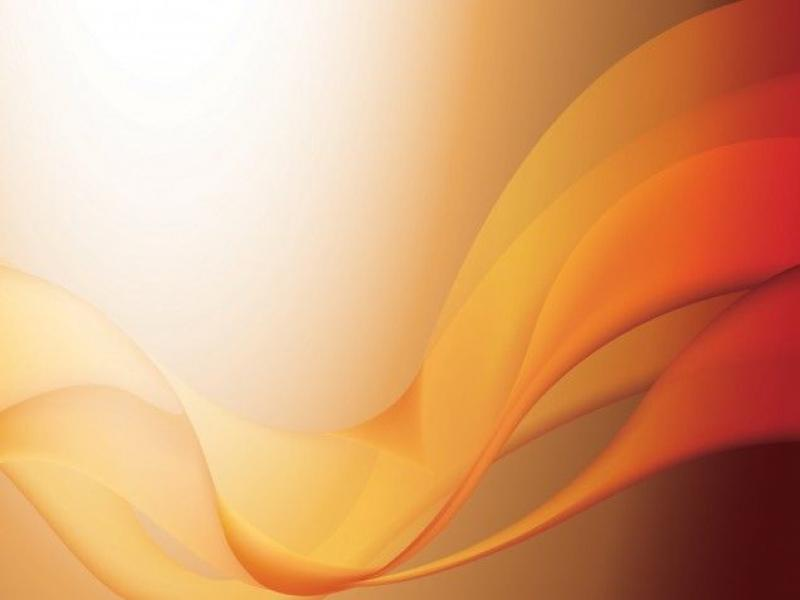 This Orange Waves PPT Template Is A Nice Abstract Design For Your   Frame Backgrounds