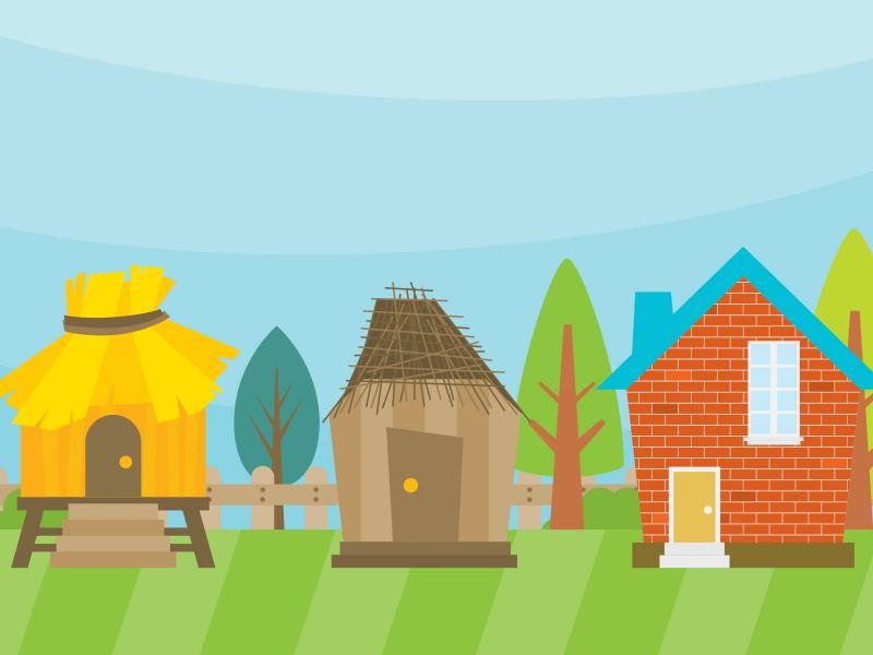 Tree House Backgrounds For Powerpoint Templates Ppt Backgrounds