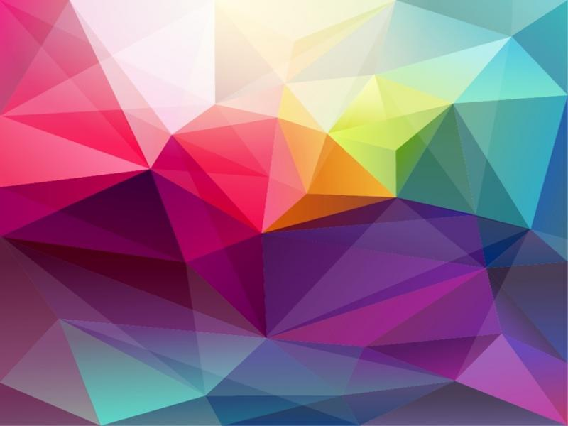 Triangle Abstract Retro Frame Backgrounds