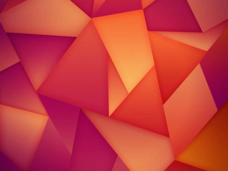 Triangles Abstraction Orange  Backgrounds