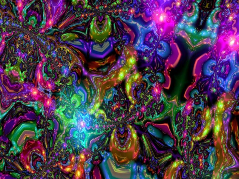 trippy psychedelic backgrounds for powerpoint templates