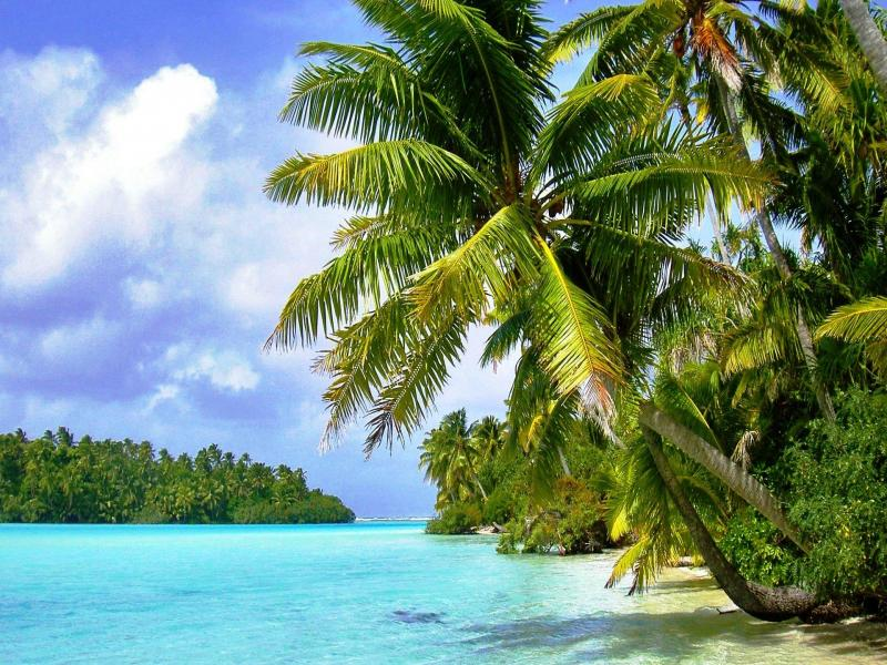 Tropical Island Hd Backgrounds