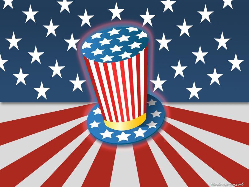 Uncle Sam Slides Backgrounds