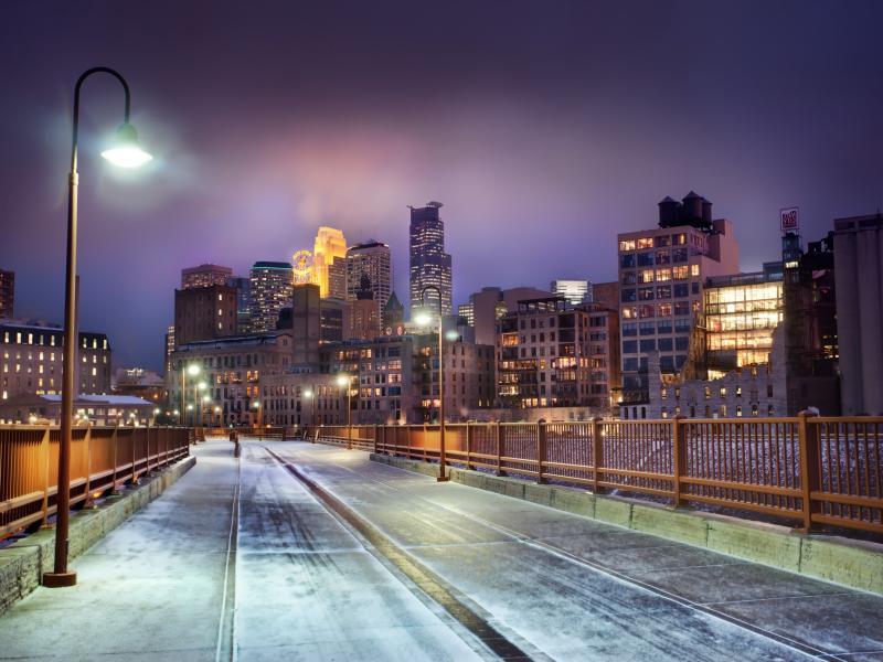 Urban City Night Art Backgrounds