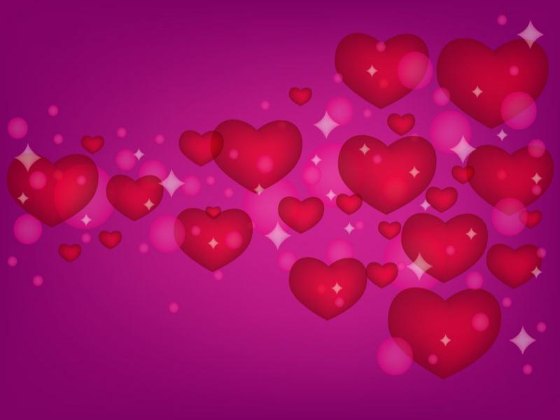 Vector Holiday > Love Hearts Backgrounds