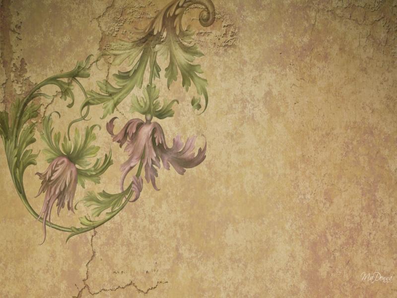 Vintage flowers Backgrounds