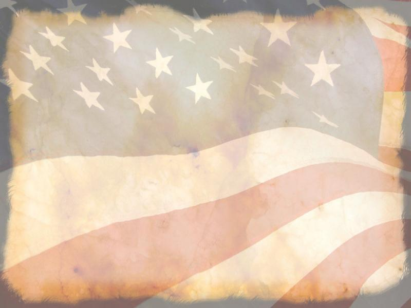 Vintage Patriotic Secular Holiday Wallpaper Backgrounds