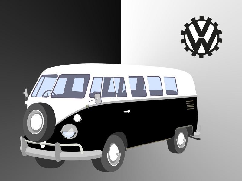 Volkswagen Bus Backgrounds