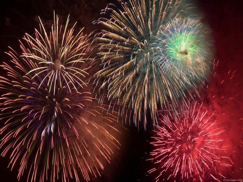Wallpaper Fireworks Best Backgrounds