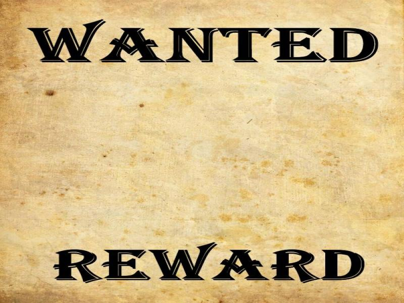 Wanted Poster Reward Image image Backgrounds