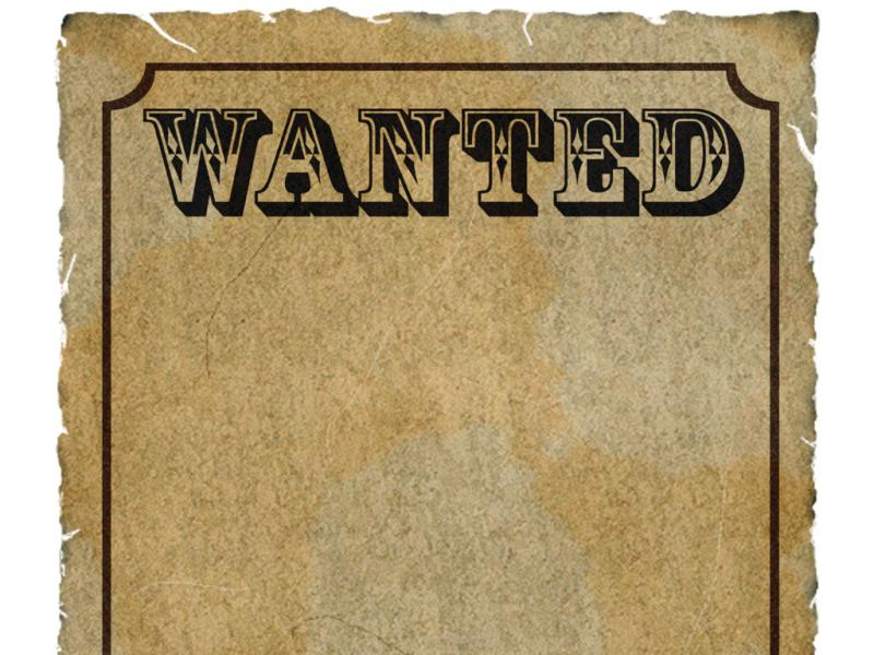 Wanted Poster Template Photos Design Backgrounds For Powerpoint