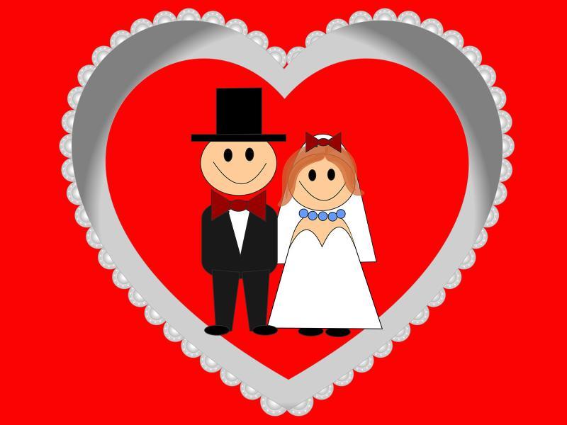Wedding Heart Backgrounds