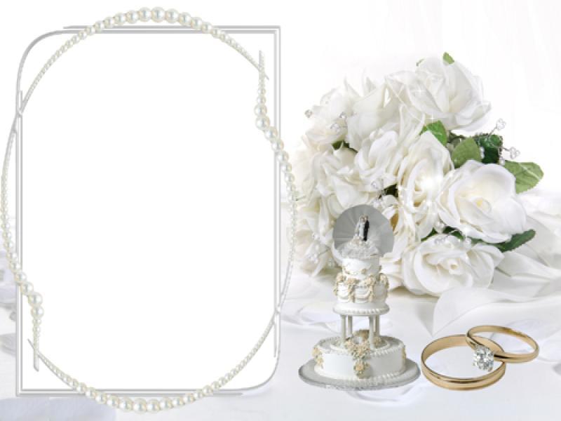 Wedding Invitation Frame Template Backgrounds