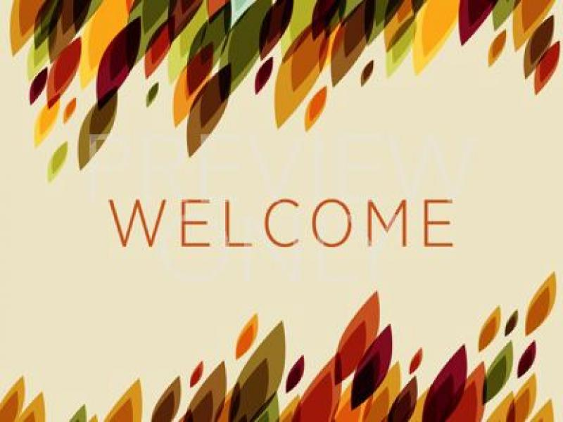 welcome frame backgrounds for powerpoint templates