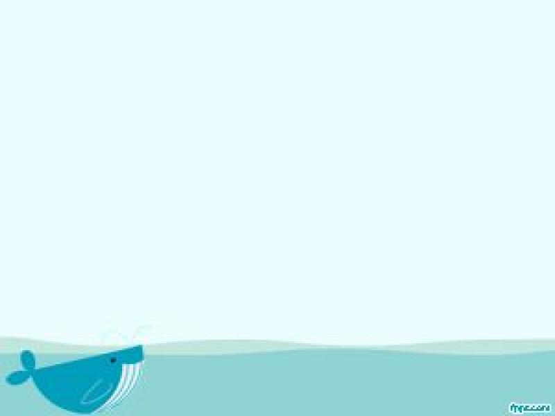 Whale PowerPoint Template PPT Template Graphic Backgrounds