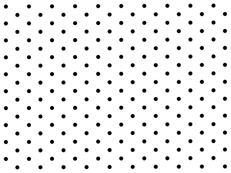 White and Black Polka Dots Frame Backgrounds