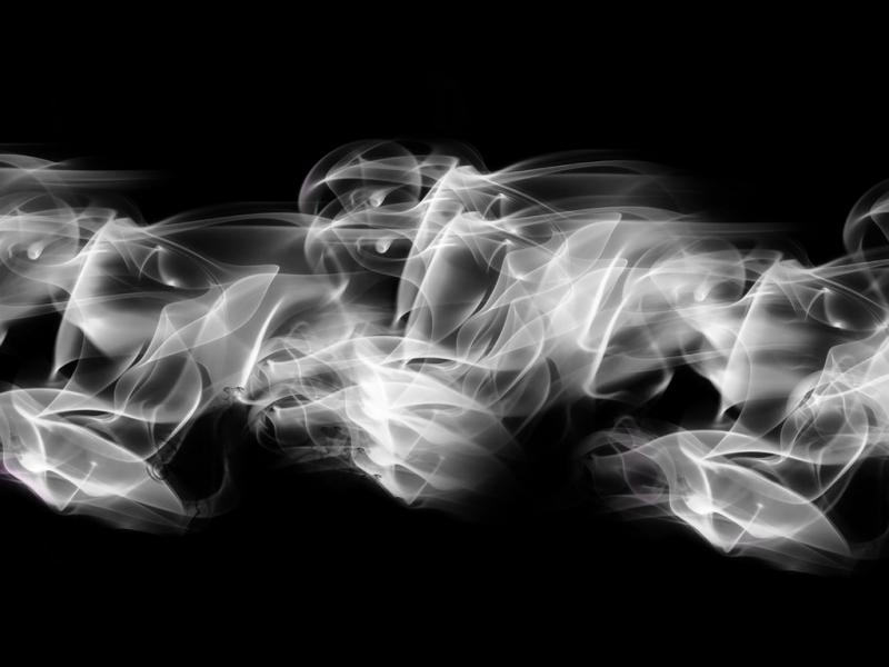White Smoke Texture Image Backgrounds For Powerpoint