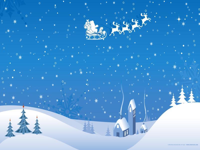 Winter Christmas Desktop Wallpaper