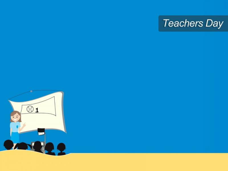 World Teachers Day Ppt Image Backgrounds For Powerpoint