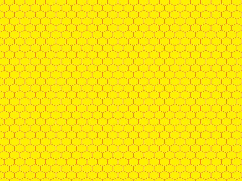 Yellow Honeycomb Pattern image Backgrounds