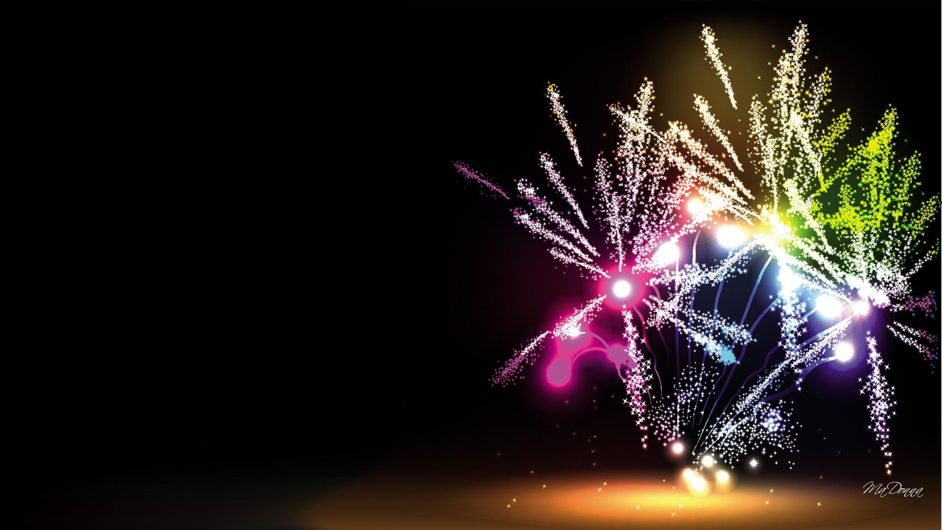 103046 fireworks vector template ppt backgrounds