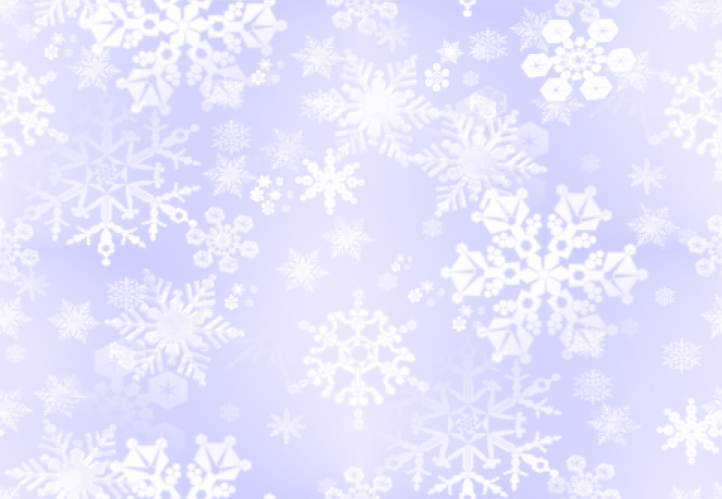 Abstract Snowflake Frame PPT Backgrounds
