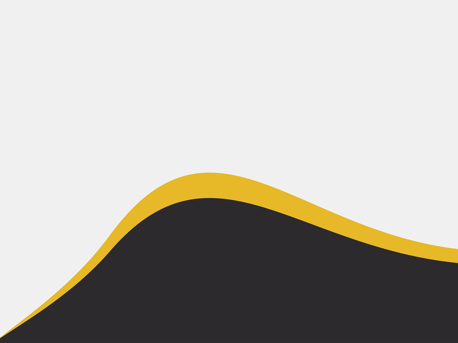 Abstract Yellow Wave PPT Backgrounds