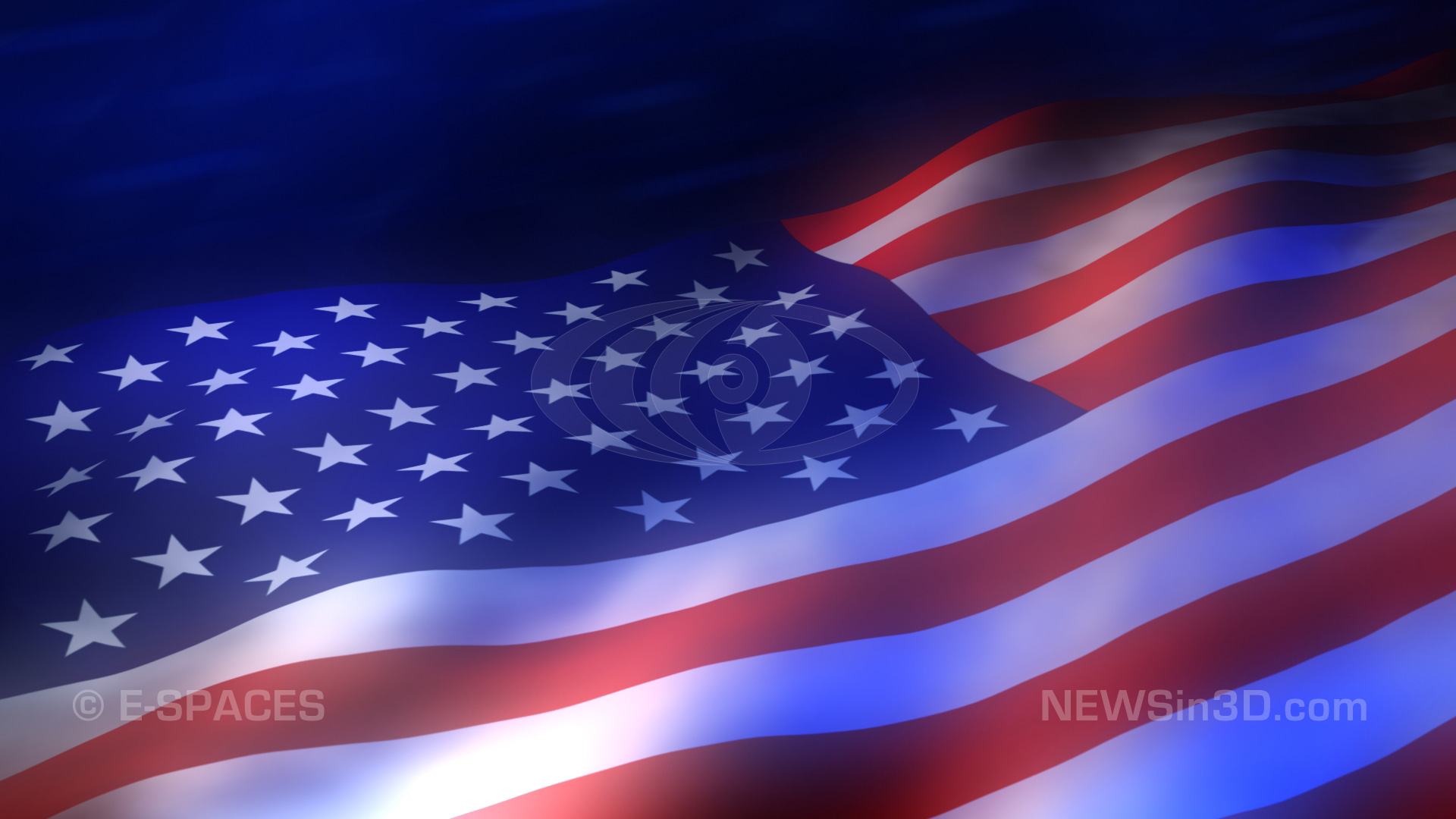American Flag PPT Backgrounds