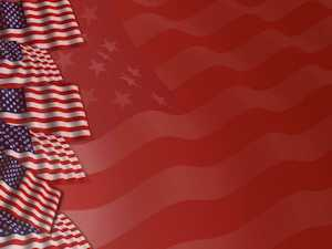 Americana Templates and 0711 Wallpaper PPT Backgrounds