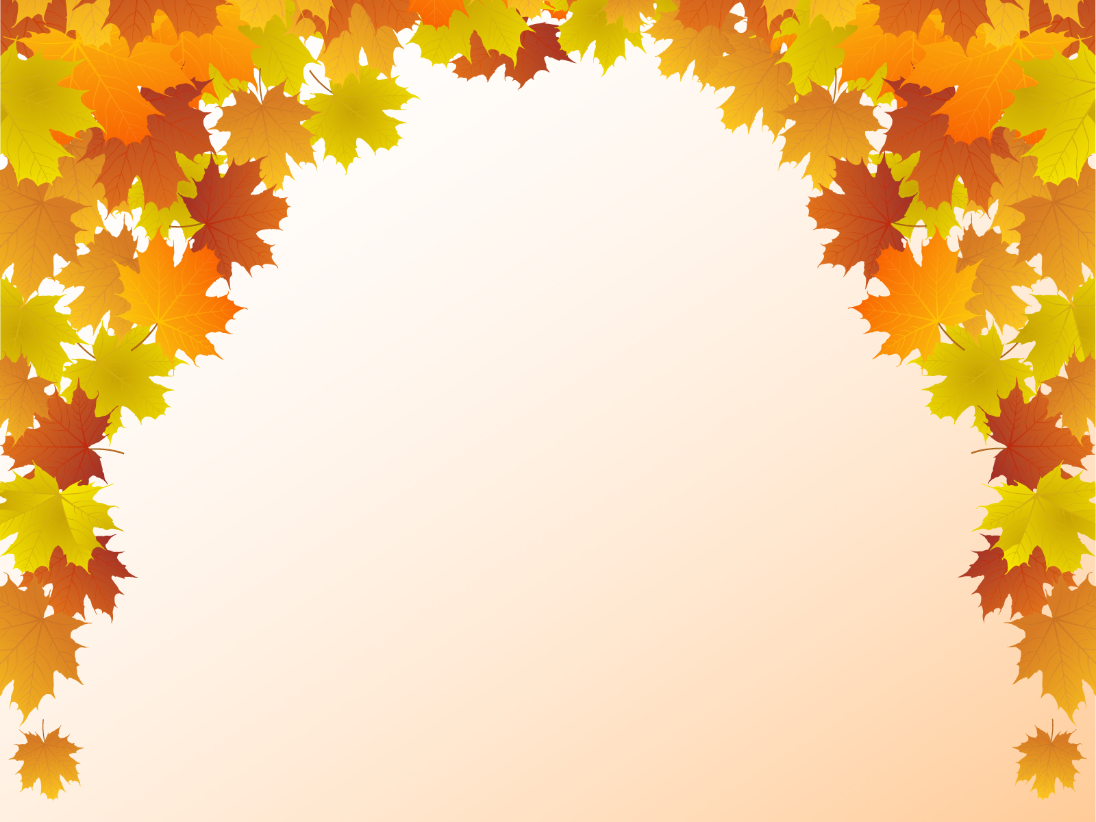 Autumn Picture PPT Backgrounds