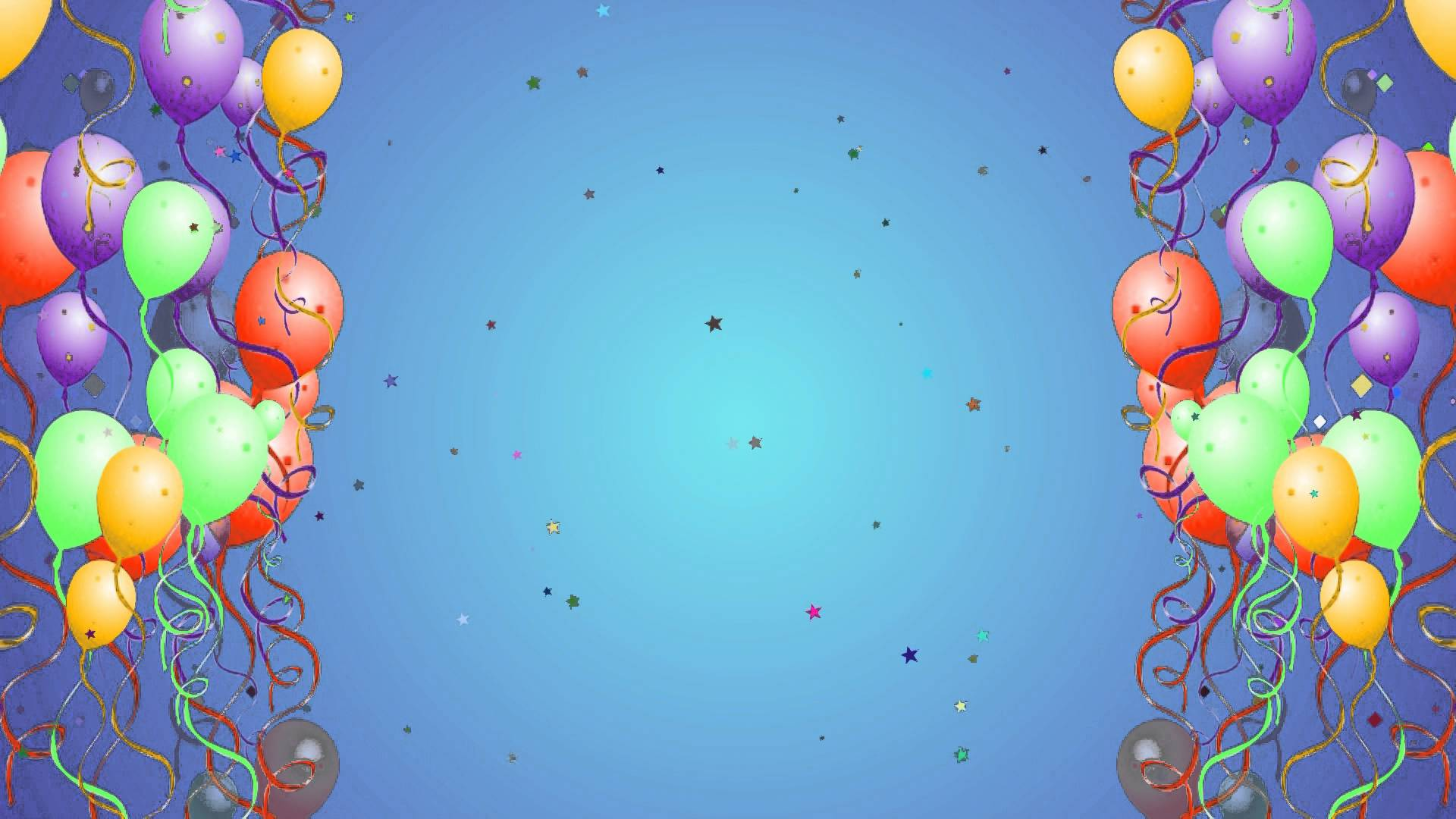 balloon with star particles hd presentation backgrounds for powerpoint templates ppt backgrounds