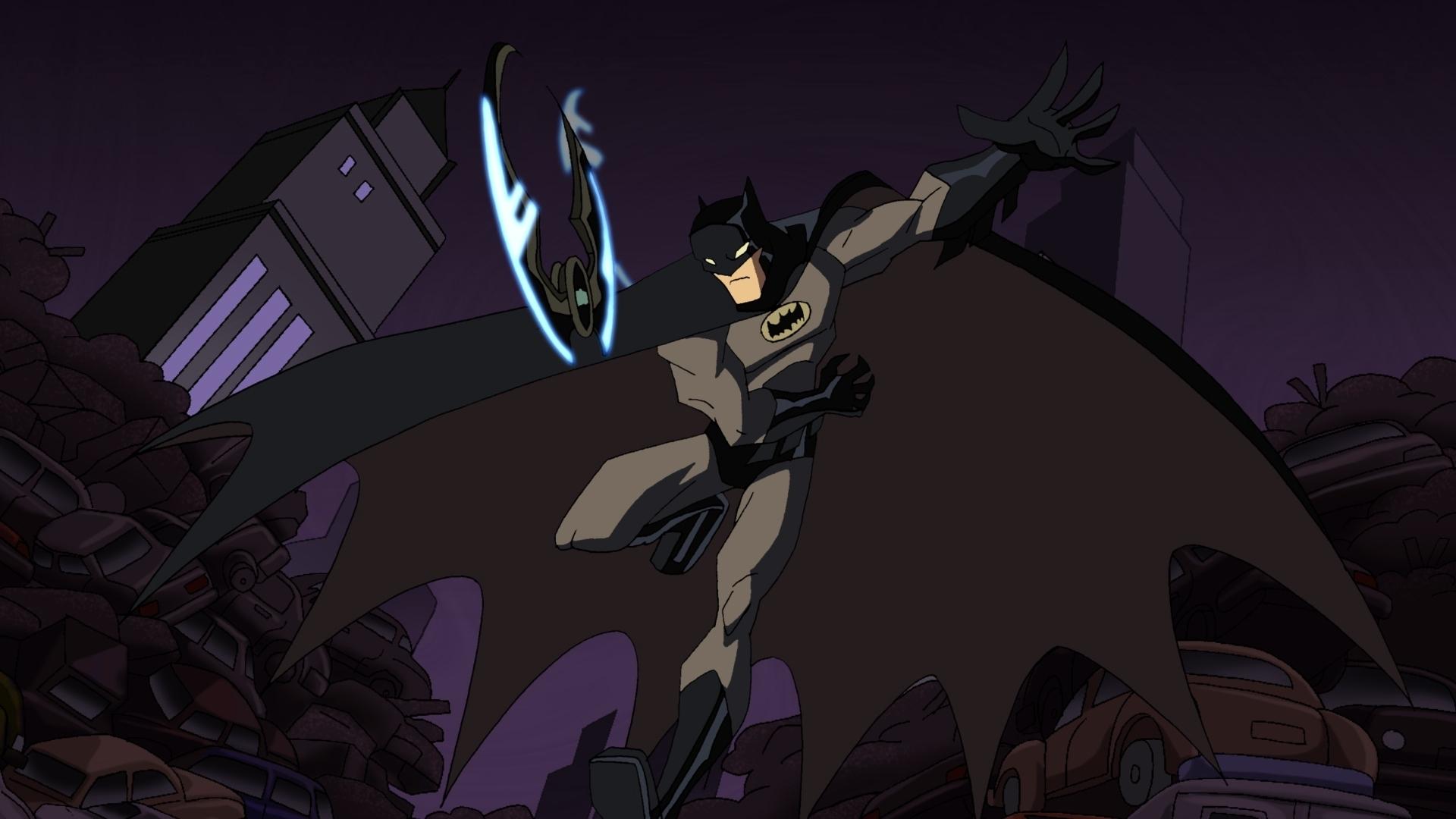 Batman Template PPT Backgrounds