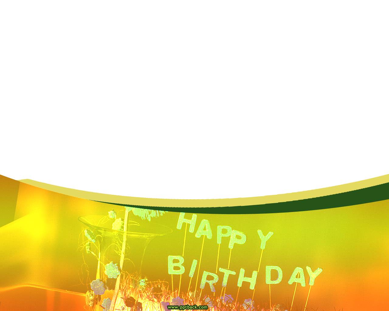 Birthday Quality PPT Backgrounds
