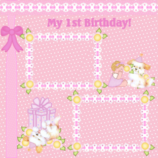 Birthday Wording Clipart PPT Backgrounds