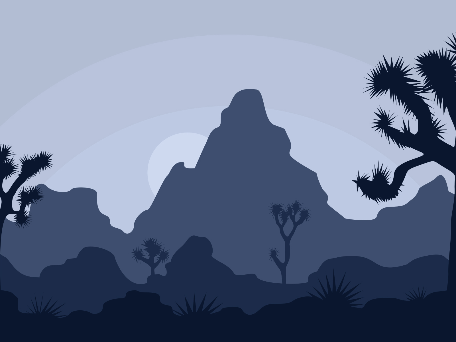 Cactus Field PPT Backgrounds