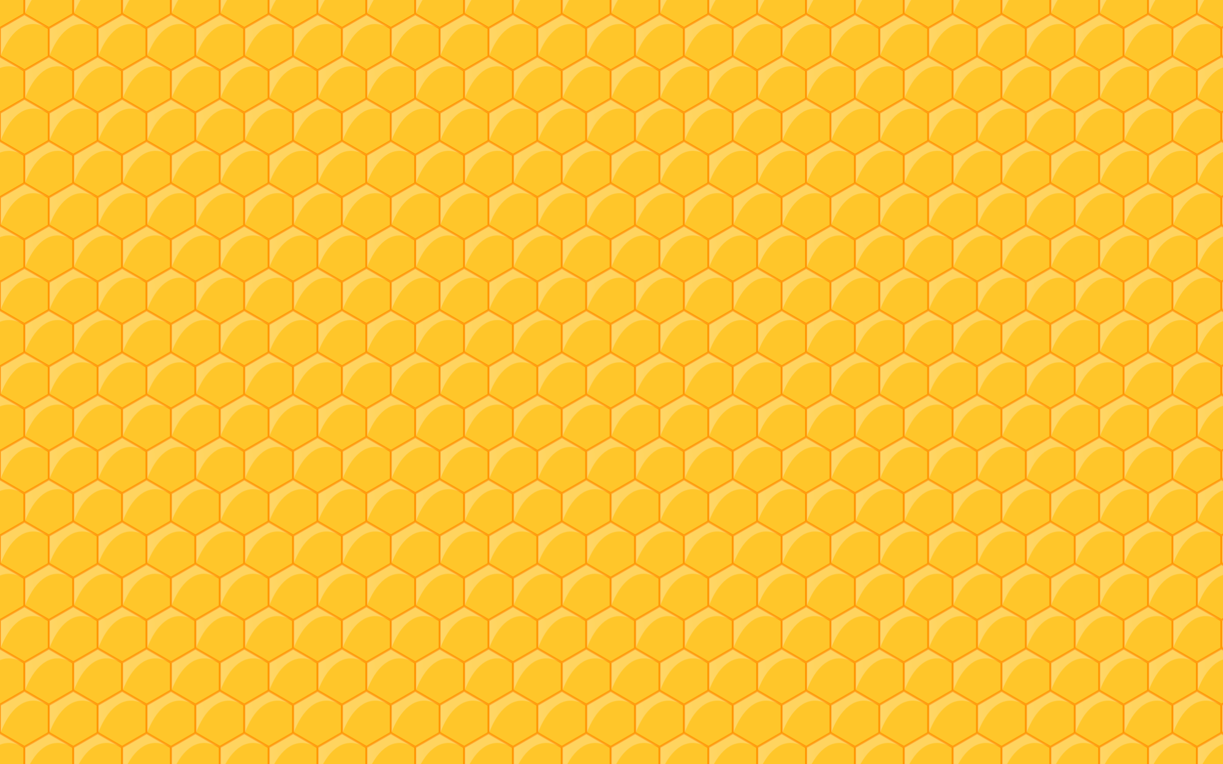 Clipart   Seamless Honeycomb Pattern Template PPT Backgrounds