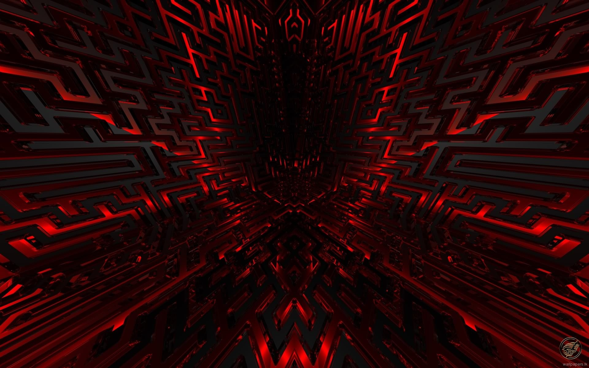 Cool Red and Black PPT Backgrounds