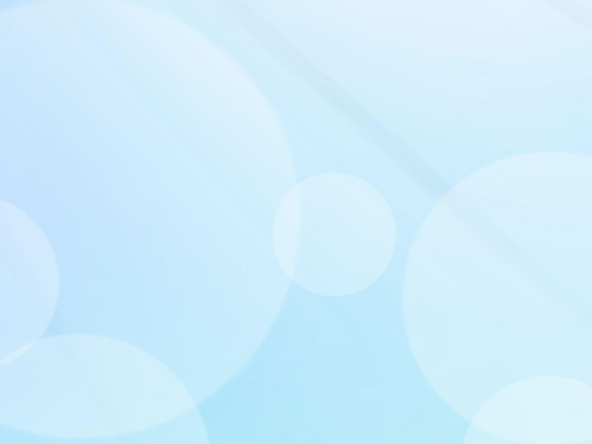 Cute Blue Art PPT Backgrounds