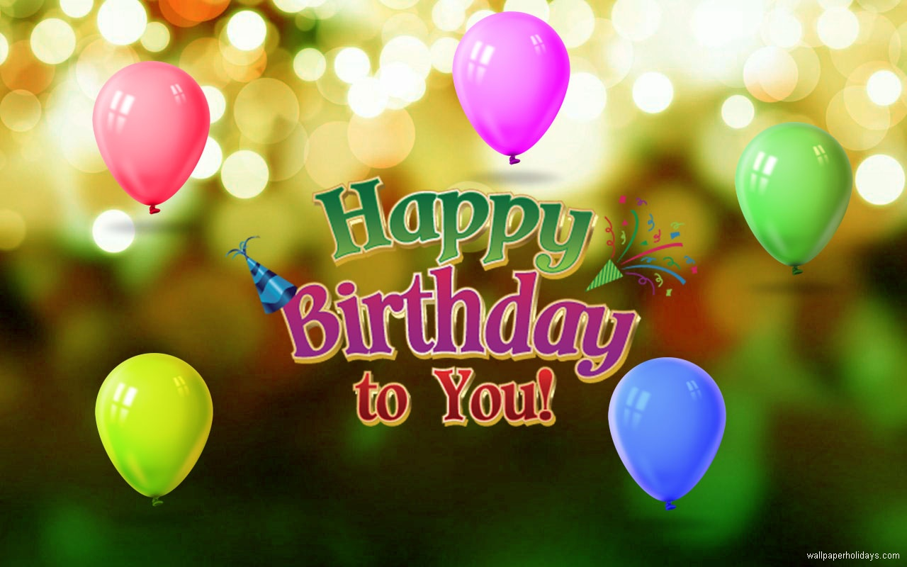 Download Free Happy Birthday Images  The Quotes Land Template PPT Backgrounds