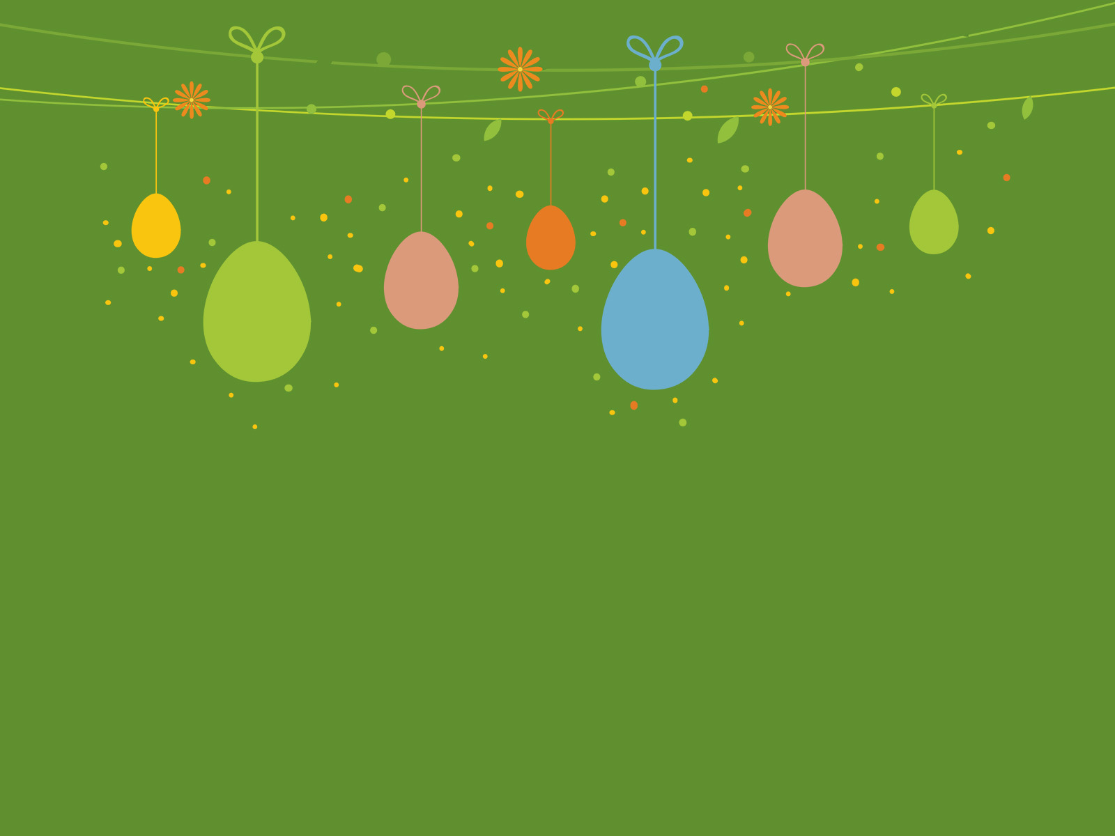 download free easter day design green holiday ppt image ppt