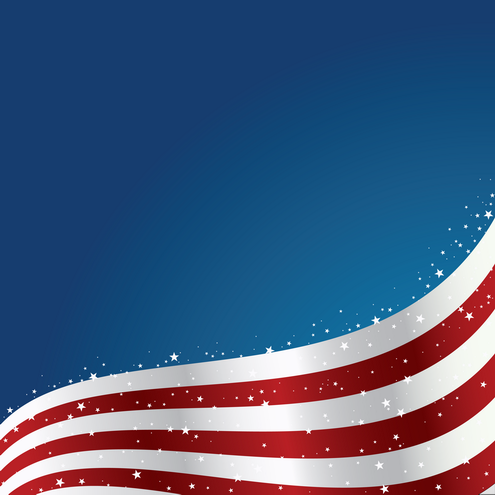 Ebay Sales Patriotic PPT Backgrounds