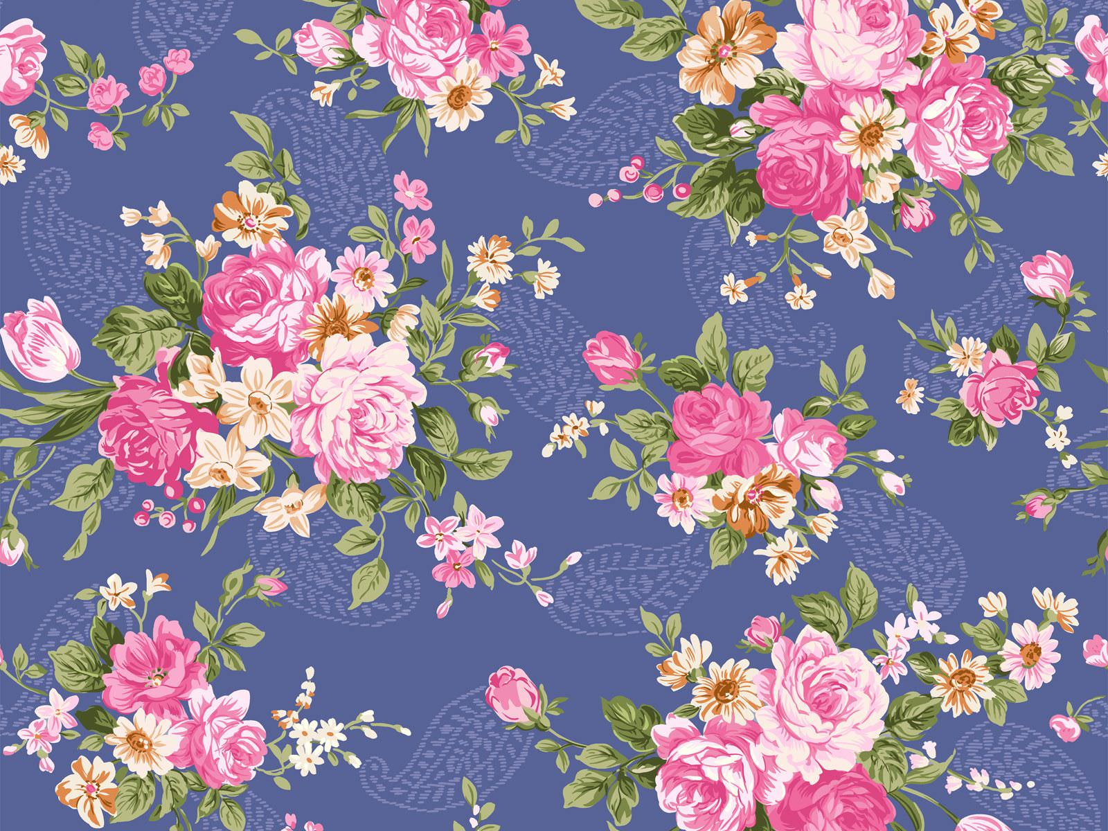 Floral Patterns Vintage Download Backgrounds For Powerpoint