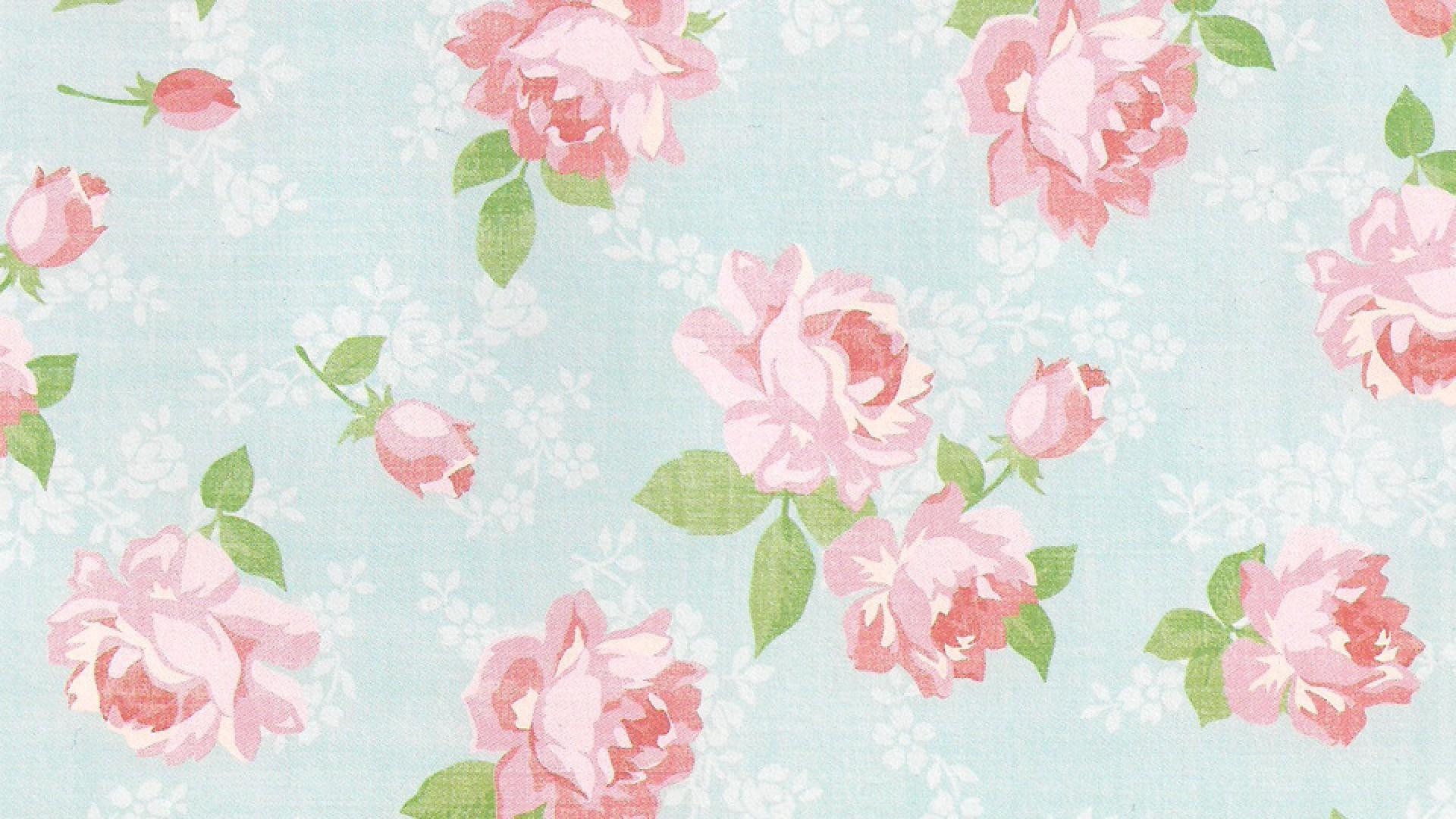 Floral Vintage Tumblr Gaya Vintage Download Backgrounds for ...