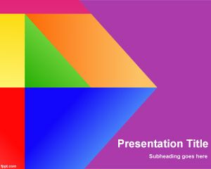 download free free colors of google powerpoint template clipart