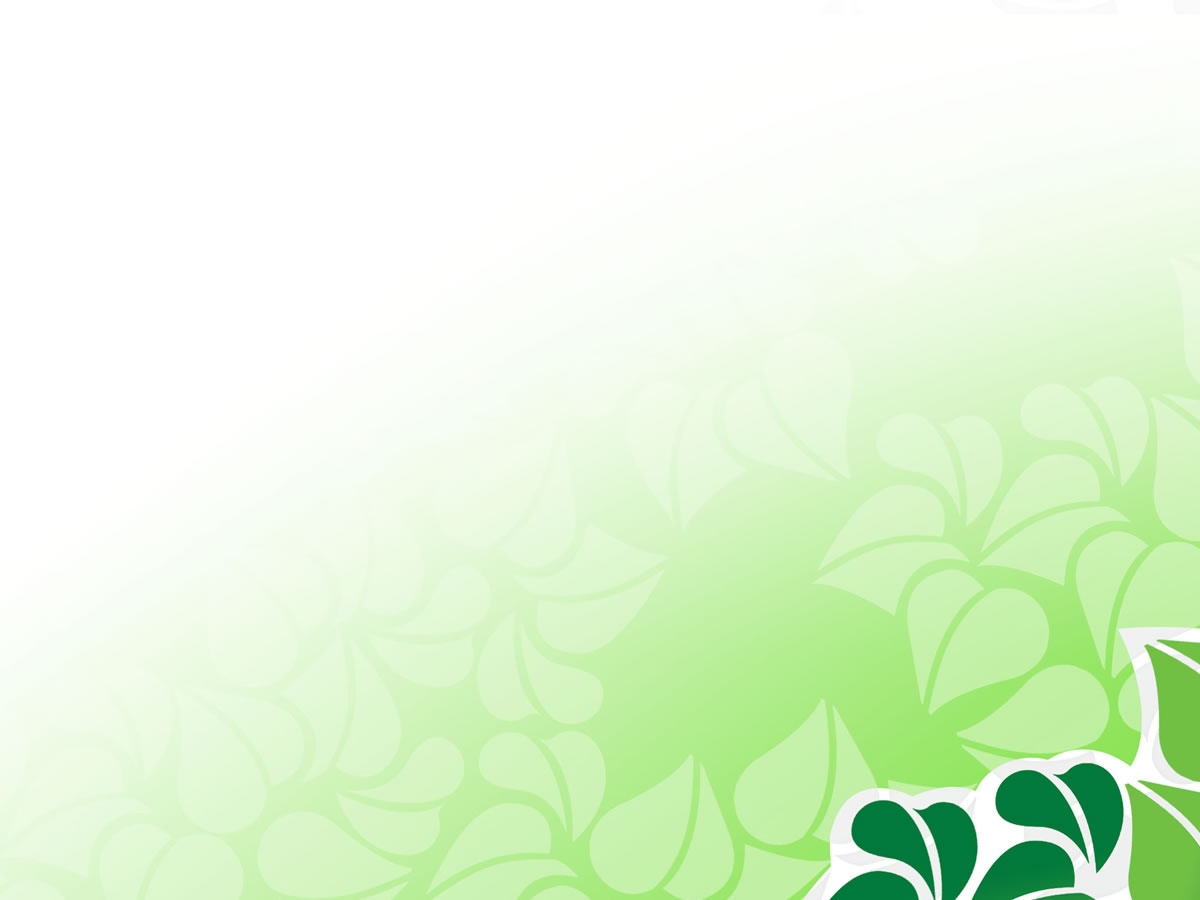 Free Green Vector Flower For PowerPoint Flower PPT Graphic